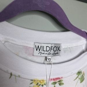 Wildfox Tops - NWT Wildfox Patchwork Floral Sweater size XS / N13